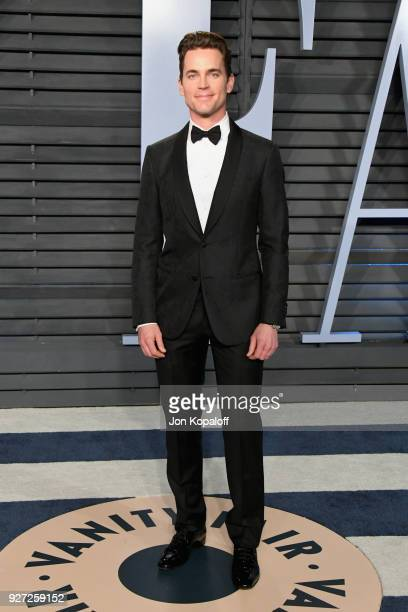 Matt Bomer attends the 2018 Vanity Fair Oscar Party hosted by Radhika Jones at Wallis Annenberg Center for the Performing Arts on March 4 2018 in...