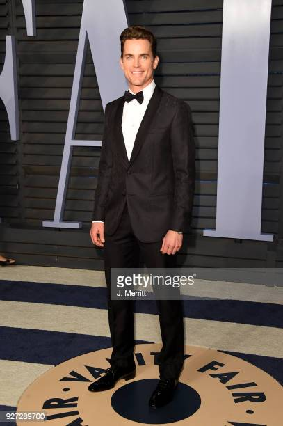 Matt Bomer attends the 2018 Vanity Fair Oscar Party hosted by Radhika Jones at the Wallis Annenberg Center for the Performing Arts on March 4 2018 in...