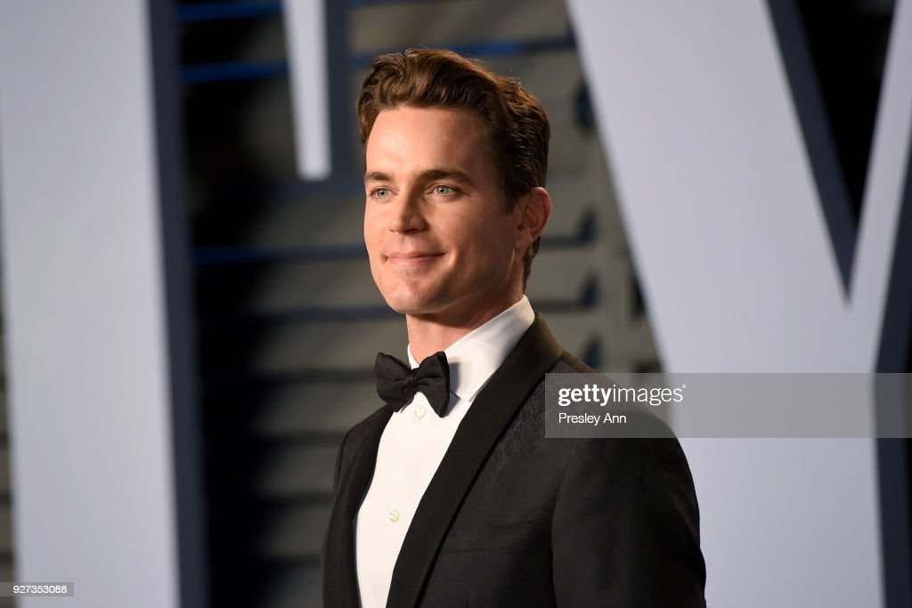 Matt Bomer attends the 2018 Vanity Fair Oscar Party Hosted By Radhika Jones - Arrivals at Wallis Annenberg Center for the Performing Arts on March 4, 2018 in Beverly Hills, California.
