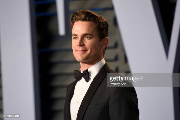 Matt Bomer attends the 2018 Vanity Fair Oscar Party Hosted By Radhika Jones Arrivals at Wallis Annenberg Center for the Performing Arts on March 4...