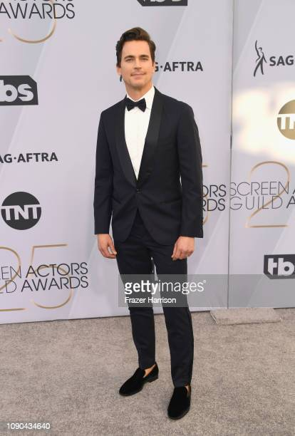 Matt Bomer attends the 25th Annual Screen ActorsGuild Awards at The Shrine Auditorium on January 27 2019 in Los Angeles California