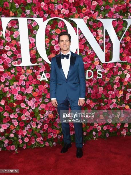 Matt Bomer attends the 72nd Annual Tony Awards at Radio City Music Hall on June 10 2018 in New York City