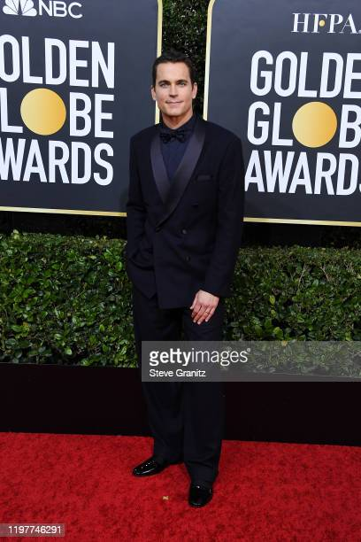 Matt Bomer attends the 77th Annual Golden Globe Awards at The Beverly Hilton Hotel on January 05 2020 in Beverly Hills California