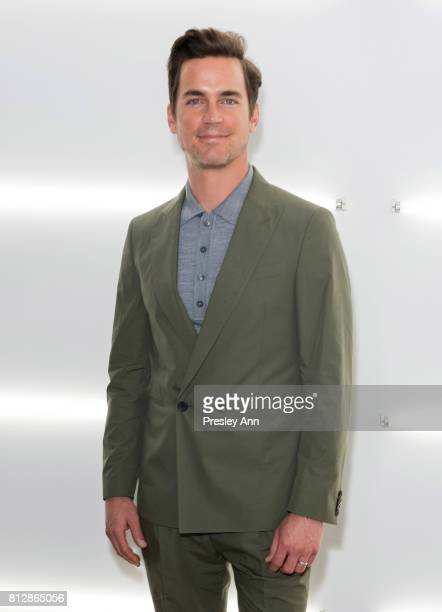 Matt Bomer attends the BOSS show during NYFW Men's July 2017 at Fulton Market Building on July 11 2017 in New York City
