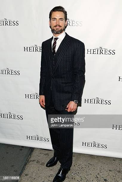 Matt Bomer attends the Broadway revival opening night of 'The Heiress' at the Walter Kerr Theatre on November 1 2012 in New York City