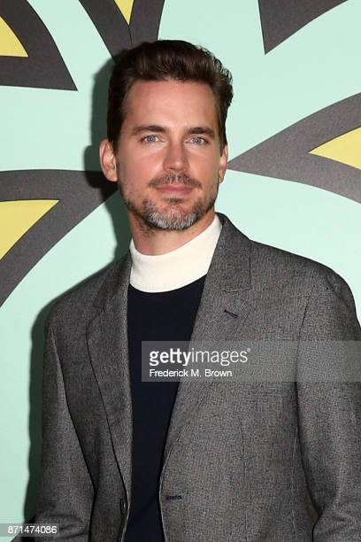 Matt Bomer attends the celebration of the reopening of the LACOSTE Rodeo Drive Boutique at Sheats Goldstein Residence on November 7 2017 in Los...
