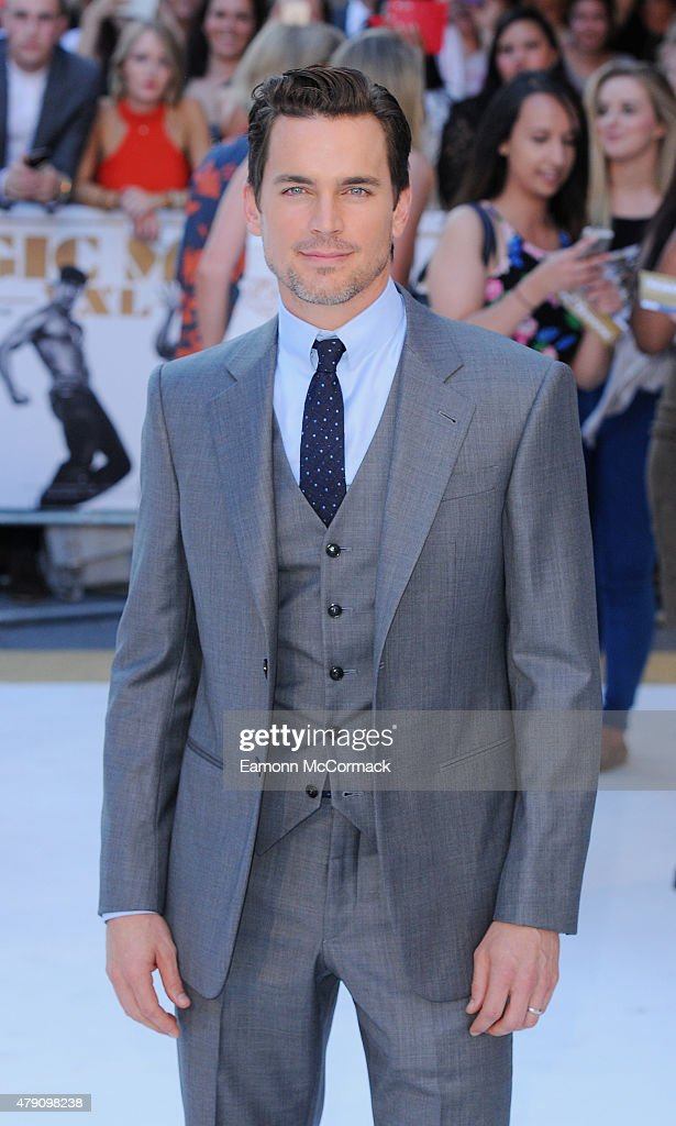 Matt Bomer attends the European Premiere of 'Magic Mike XXL' at Vue West End on June 30, 2015 in London, England.