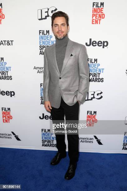 Matt Bomer attends the Film Independent Spirit Awards Nominee Brunch at BOA Steakhouse on January 6 2018 in West Hollywood California