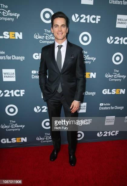 Matt Bomer attends the GLSEN Respect Awards at the Beverly Wilshire Four Seasons Hotel on October 19 2018 in Beverly Hills California