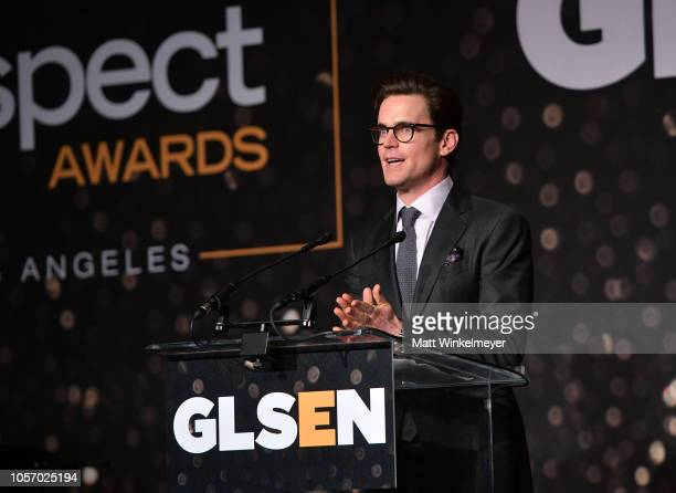 Matt Bomer attends the GLSEN Respect Awards at the Beverly Wilshire Four Seasons Hotel on October 19 2018 in Beverly Hills California