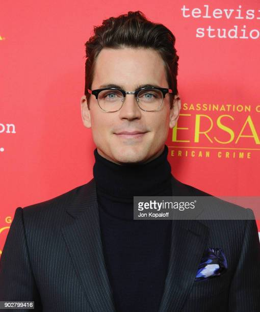 Matt Bomer attends the Los Angeles Premiere 'The Assassination Of Gianni Versace American Crime Story' at ArcLight Hollywood on January 8 2018 in...