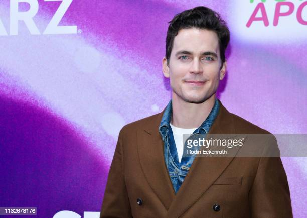 Matt Bomer attends the new Starz series Now Apocalypse premiere at Hollywood Palladium on February 27 2019 in Los Angeles California