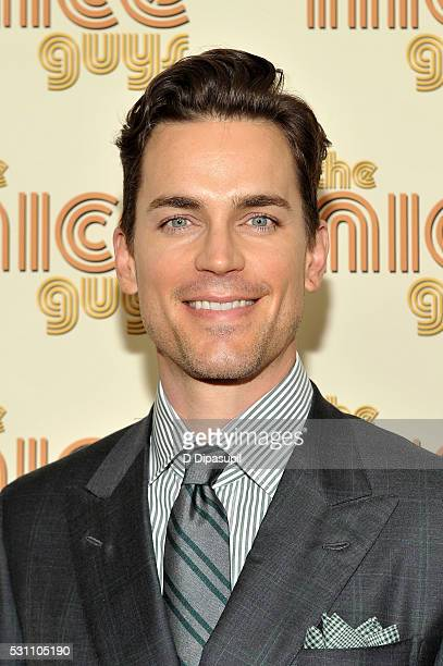 Matt Bomer attends The Nice Guys New York screening at Metrograph on May 12 2016 in New York City