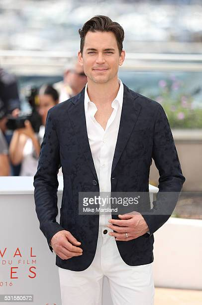 Matt Bomer attends 'The Nice Guys ' Photocall at the annual 69th Cannes Film Festival at Palais des Festivals on May 15 2016 in Cannes France