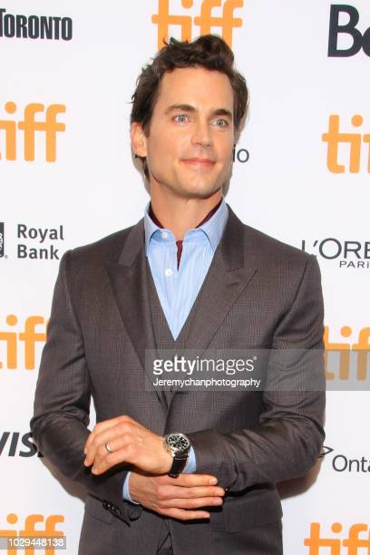 Matt Bomer attends the Papi Chulo Premiere during 2018 Toronto International Film Festival at TIFF Bell Lightbox on September 8 2018 in Toronto Canada