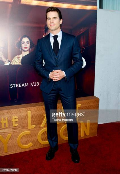 Matt Bomer attends the premiere of Amazon Studios 'The Last Tycoon' at the Harmony Gold Preview House and Theater on July 27, 2017 in Hollywood,...