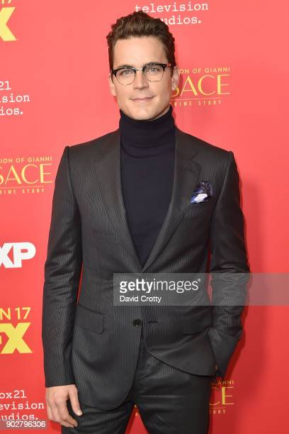 Matt Bomer attends the Premiere Of FX's 'The Assassination Of Gianni Versace American Crime Story' Arrivals at ArcLight Hollywood on January 8 2018...