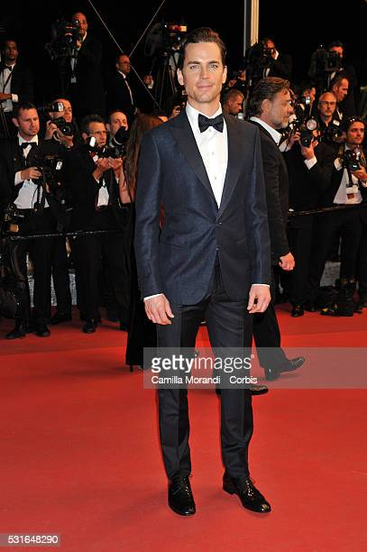 Matt Bomer attends the 'The Nice Guys' Red carpet at the annual 69th Cannes Film Festival at Palais des Festivals on May 15 2016 in Cannes France