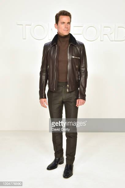 Matt Bomer attends the Tom Ford AW/20 Fashion Show at Milk Studios on February 07, 2020 in Los Angeles, California.