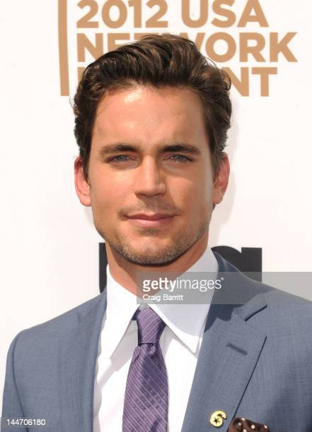 Matt Bomer attends the USA Network's 2012 Upfront Event at Alice Tully Hall on May 17 2012 in New York City