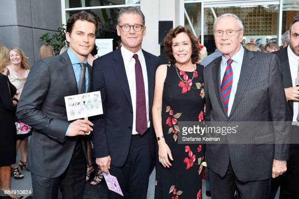 Matt Bomer Simon Halls Mindy Halls and James Halls attend Uplift Family Services at Hollygrove Gala at W Hollywood on May 18 2017 in Hollywood...