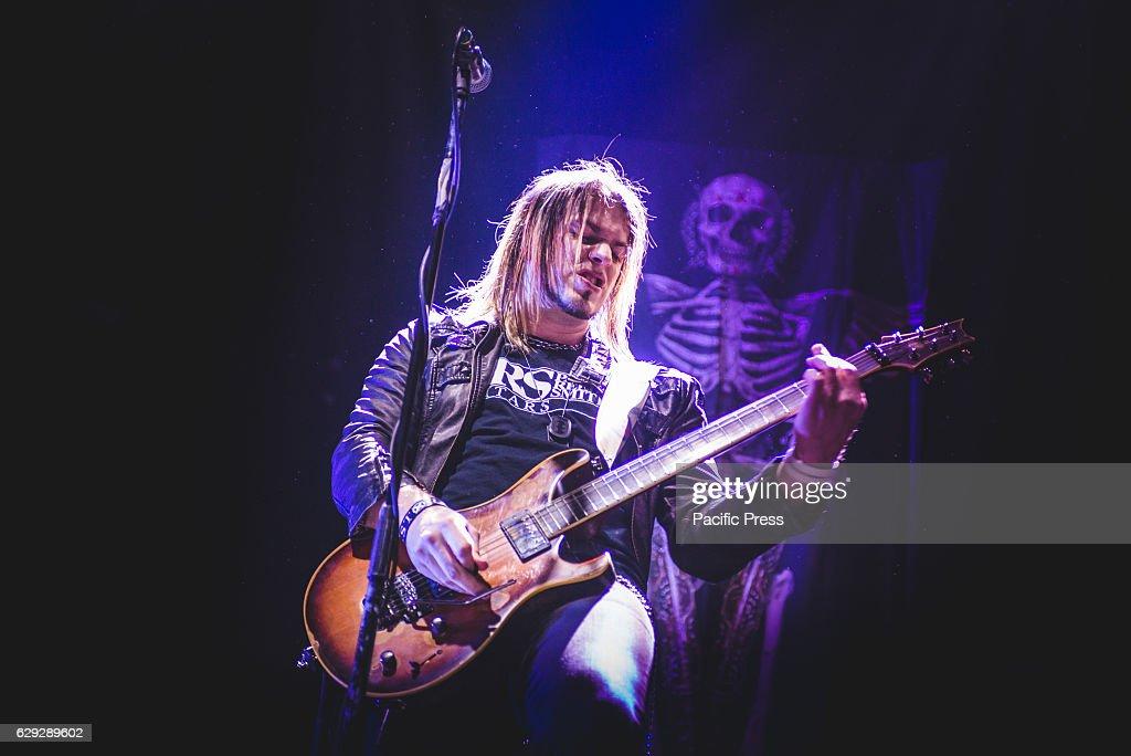 Matt Brooks of Like A Storm performing live at Unipol Arena... : ニュース写真