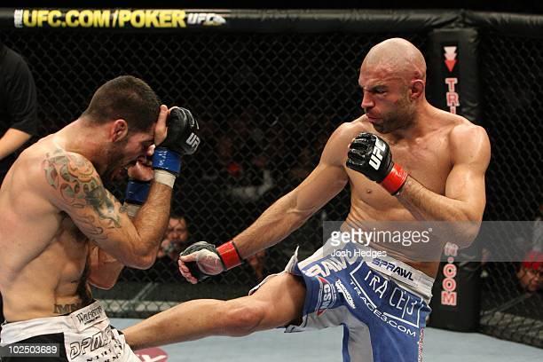 Matt Brown def James Wilks TKO 227 round 3 during UFC 105 at MEN Arena on November 14 2009 in Manchester England
