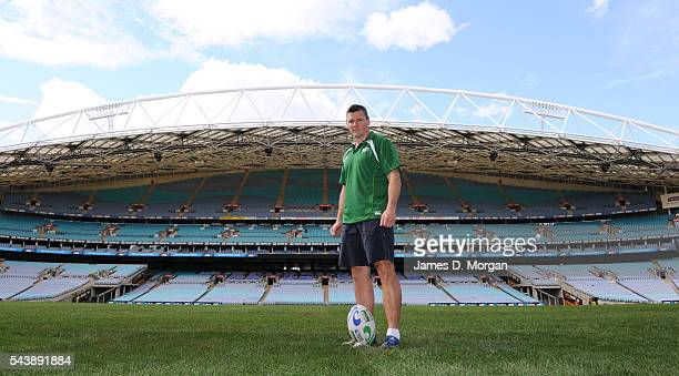 Matt Burke poses during a photo shoot at ANZ Stadium on August 22, 2011 in Sydney, Australia.