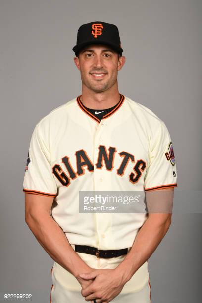 Matt Buschmann of the San Francisco Giants poses during Photo Day on Tuesday February 20 2018 at Scottsdale Stadium in Scottsdale Arizona
