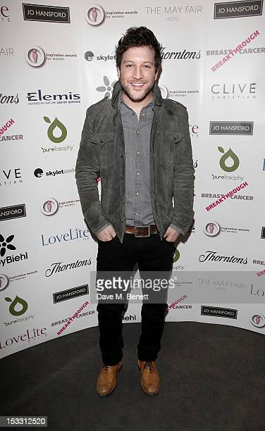 Matt Cardle arrives at The Inspiration Awards For Women 2012 at Cadogan Hall on October 3 2012 in London England