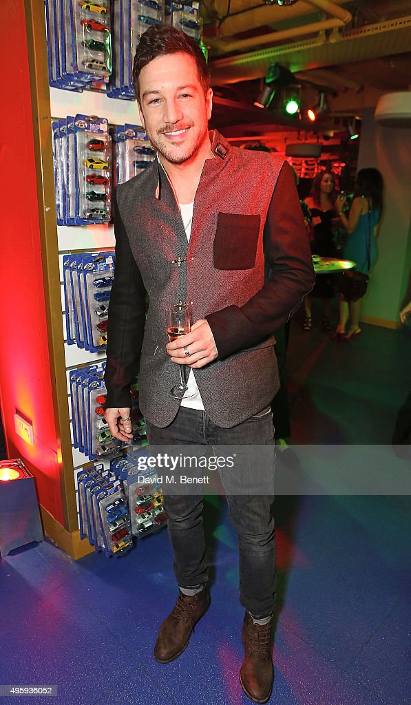 Matt Cardle attends the press night after party for 'Elf: The Musical' at the Dominion Theatre on November 5, 2015 in London, England.
