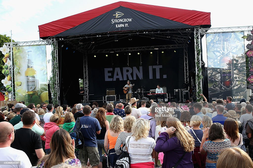 Matt Cardle performs at The Isle of Wight Festival at Seaclose Park on June 15, 2014 in Newport, Isle of Wight.