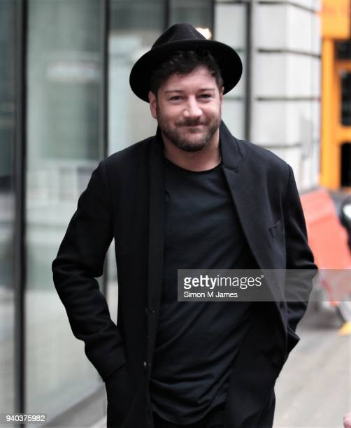 Matt Cardle seen at the BBC Studios on March 31 2018 in London England