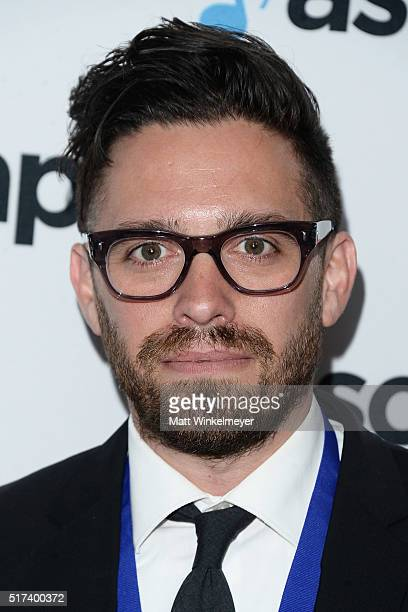 Matt Chambless arrives at the 2016 ASCAP Screen Music Awards at The Beverly Hilton Hotel on March 24 2016 in Beverly Hills California