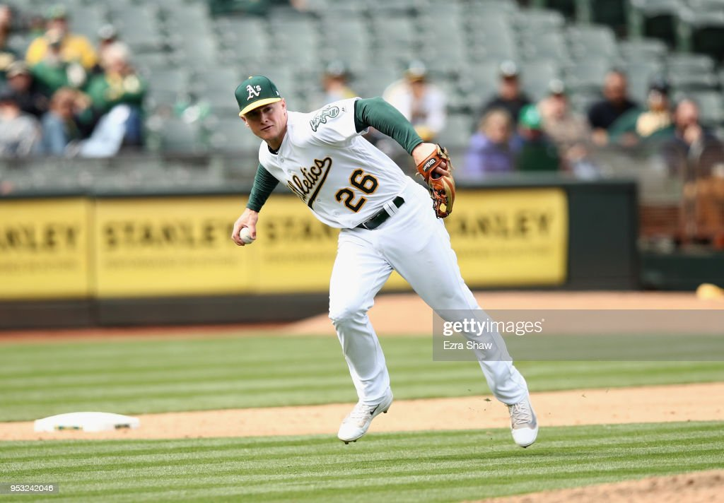 Chicago White Sox v Oakland Athletics : Nachrichtenfoto