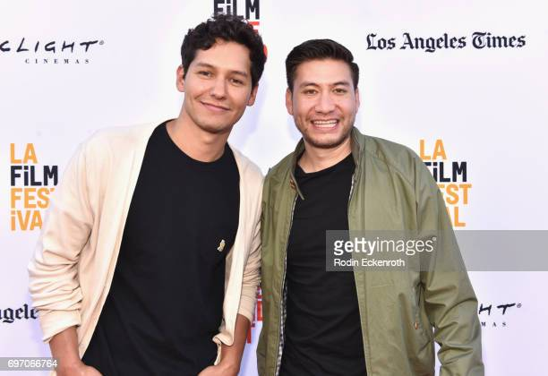 Matt Chute and Toby Louie attends Shorts Program 1 during the 2017 Los Angeles Film Festival at Arclight Cinemas Culver City on June 17 2017 in...
