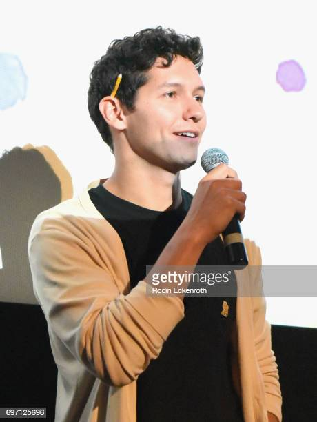 Matt Chute speaks onstage at Shorts Program 1 during the 2017 Los Angeles Film Festival at Arclight Cinemas Culver City on June 17 2017 in Culver...