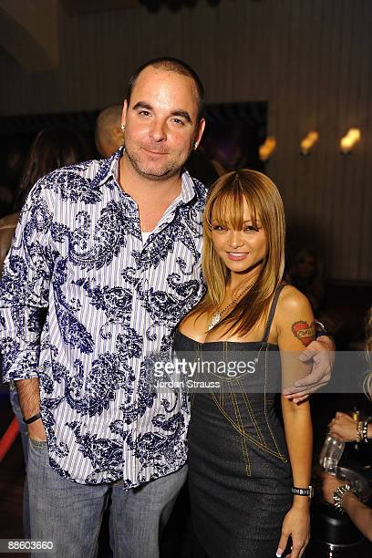 Matt Cohen and Tila Tequila attend the Official OnlineBootyCall Million Dollar Sweepstakes Party at Opera Crimson on June 20 2009 in Los Angeles...