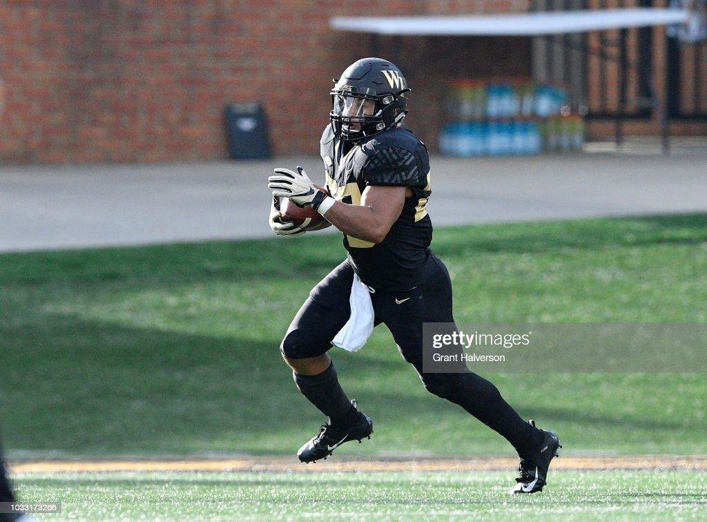 Boston College v Wake Forest : News Photo