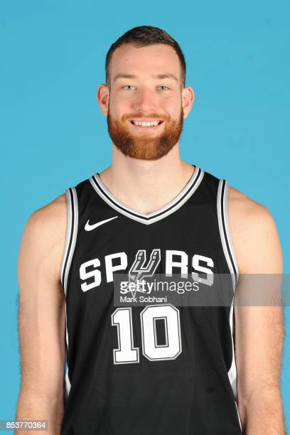 Matt Costello of the San Antonio Spurs poses for a head shot during media day in San Antonio Texas at ATT Center on September 25 2017 NOTE TO USER...