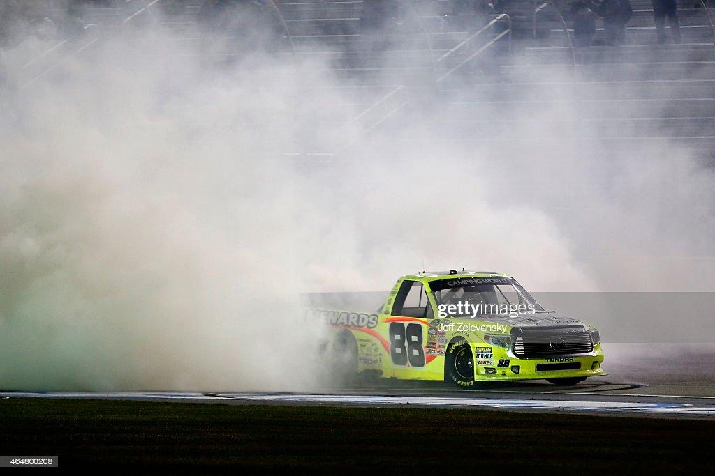Matt Crafton, driver of the Fisher Nuts/Menards Toyota