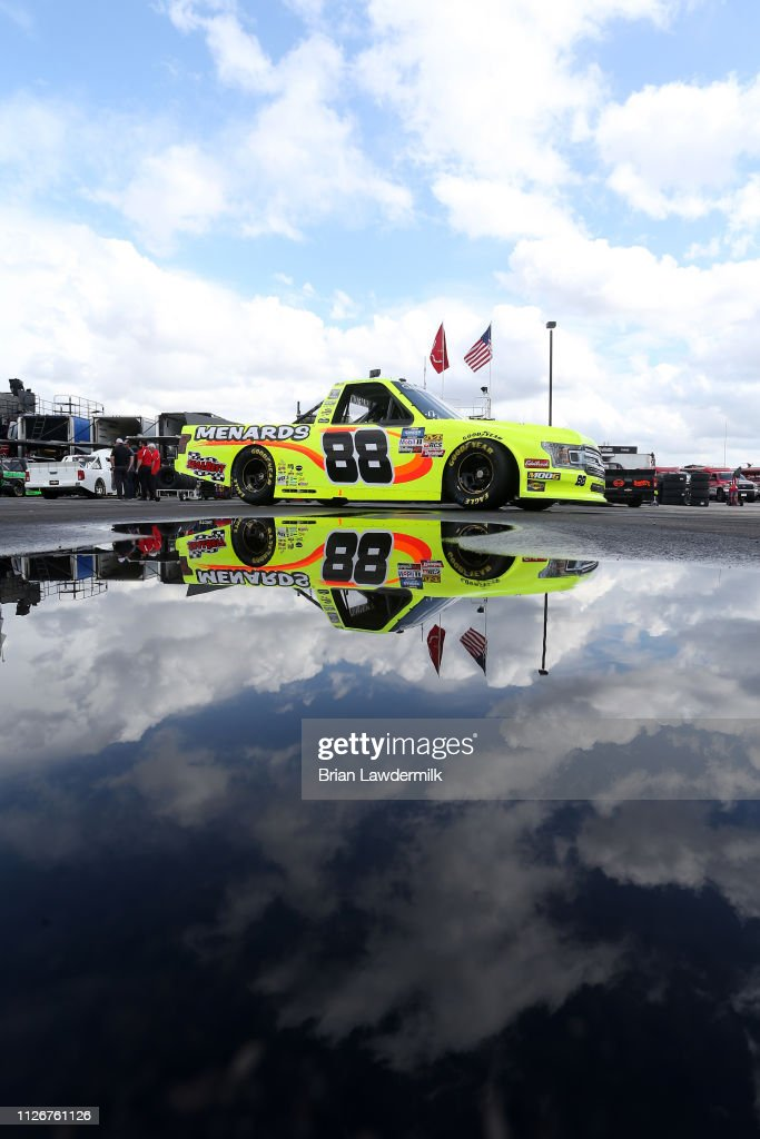 NASCAR Gander Outdoor Truck Series Ultimate Tailgating 200 - Practice : News Photo