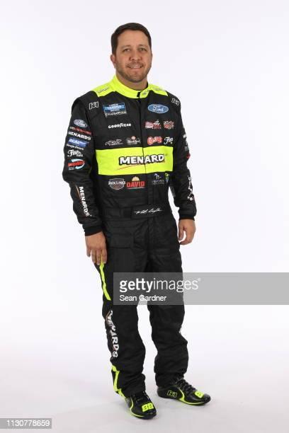 Matt Crafton poses for a photo at Daytona International Speedway on February 15 2019 in Daytona Beach Florida