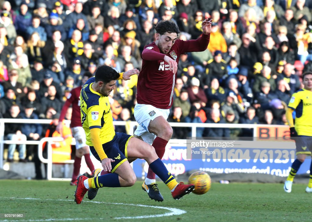 Northampton Town v Oxford United - Sky Bet League One