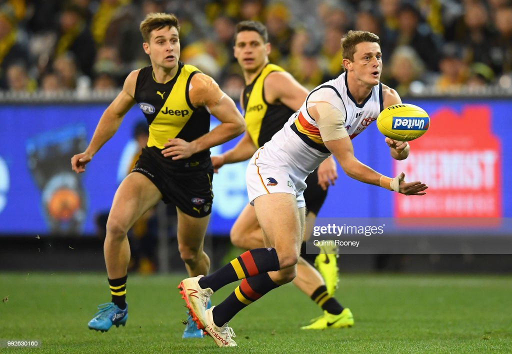 AFL Rd 16 - Richmond v Adelaide : News Photo