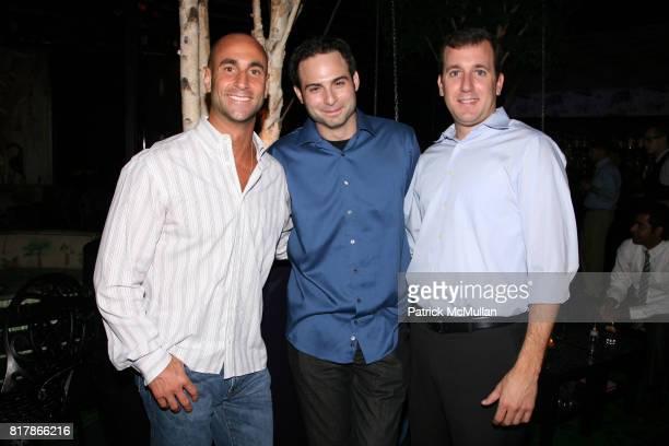 Matt Cuocci Jason Hanna and Jim Yale attend INFA Energy Brokers LLC celebrates the release of BRAD SCHAEFFER's 'Hummel's Cross' at Provocateur on...
