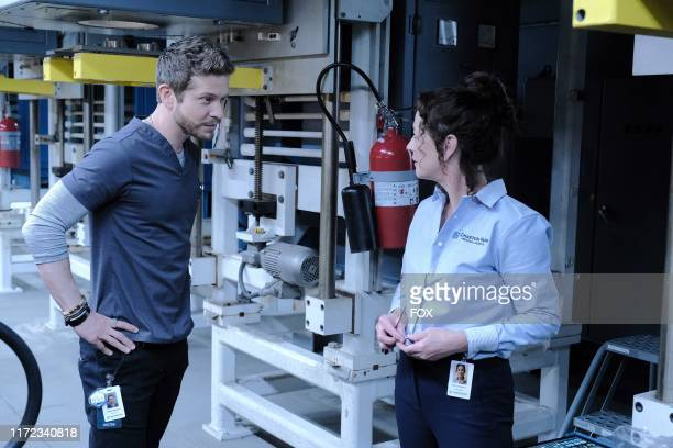 Matt Czuchry and guest star Moira Kelly in the From the Ashes season premiere episode of THE RESIDENT airing Tuesday Sept 24 on FOX