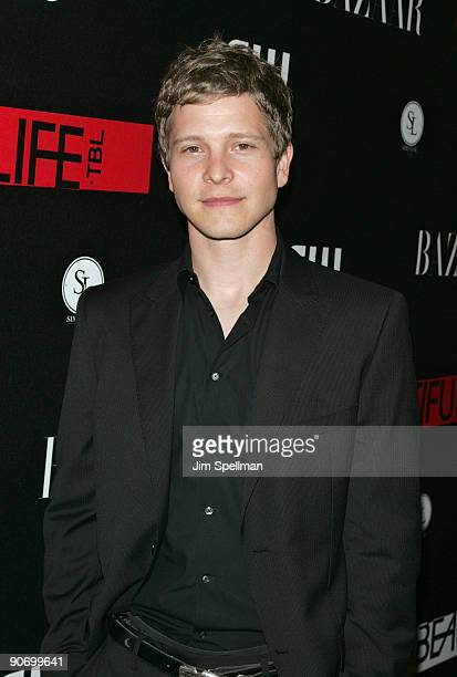 Matt Czuchry attends the CW Network celebration of its new series 'The Beautiful Life TBL' at the Simyone Lounge on September 12 2009 in New York City