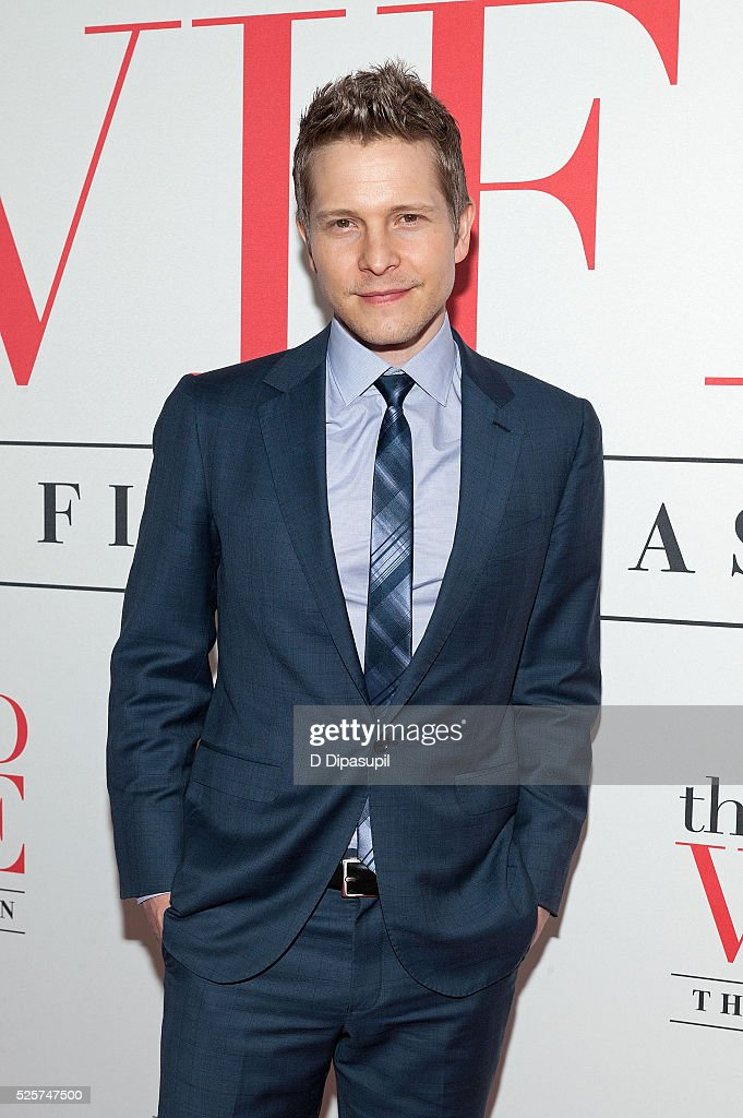 Matt Czuchry attends 'The Good Wife' Finale Party at the Museum of Modern Art on April 28, 2016 in New York City.