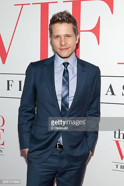 Matt Czuchry attends 'The Good Wife' Finale Party at the Museum of Modern Art on April 28 2016 in New York City